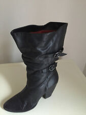 REAL LEATHER BRONX SOTODAY BOOTS SIZE 39