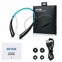 Wireless Bluetooth Headset Stereo Earphone Neckband For Samsung iPhone Android