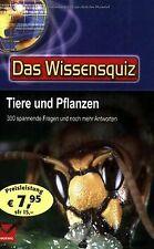 Wissensquiz. Tiere und Pflanzen: 300 spannende Frag... | Buch | Zustand sehr gut