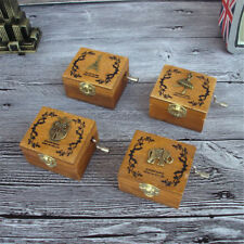 Retro Wooden Handy Music Box Series Decoration For Home Gift For Kids HF