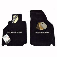 Porsche Carrera 911 Coupe & Convertible Floor Mats - 1998-2000 - Porsche Logo