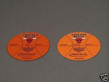 Chicago Bulls Fridge Magnets for Season Ticket Holders Lot of 2