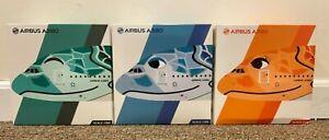 1:500 JC Wings All Nippon Airways (ANA) A380-800 Flying Honu (PACK OF 3 BUNDLE)