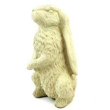 Vintage English Hare Large Concrete Bunny Rabbit Animal Outdoor Garden Statue