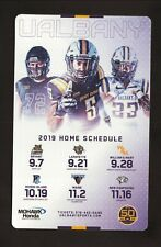 Albany Great Danes--2019 Football Home Magnet Schedule--Mohawk Honda