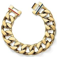 Tommy Hilfiger Gent's Chunky Gold Plated Bracelet 2700702