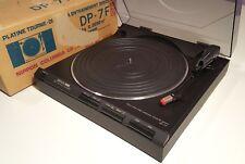 DENON VINTAGE TURNTABLE DP-7F DIRECT DRIVE RECORD PLAYER w/ SHURE M92E CARTRIDGE