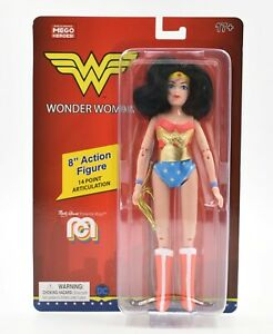 """Worlds Greatest MEGO Heroes - DC Comics - Wonder Woman 8"""" Scale Action Figure"""