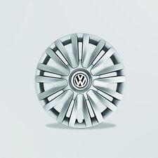 """Original Volkswagen Radkappen Radzierblenden Caddy Touran Golf Jetta 15"""" NEU"""
