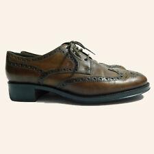 Tod's Damen Schuhe Gr.36 Leder Halbschuhe Business Braun, 71354
