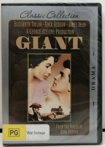 GIANT - Classic Collection - Region 4 DVD - AusPost with Tracking - New Sealed