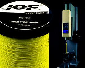Multifilament Fishing Wire Carp Fishing JOF Braid Fishing line 100M Japanese