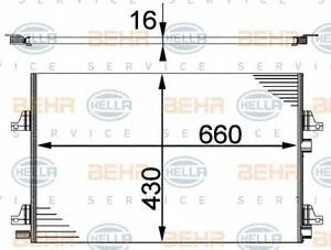 MAHLE BEHR A/C condenser - AC355000S
