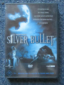 DVD SILVER BULLET STEPHEN KING  GREAT  *** MUST SEE ****