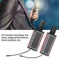 Digital UHF Wireless Microphone Mic System XLR Transmitter Receiver 900-930Hz