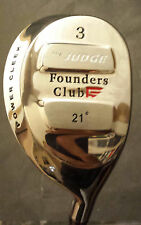 "Founders Club The Judge 21° Power Cleek, 3 Hybrid O911, 40"", RH"
