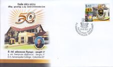 Special Commemorative Cover : 50th Anniversary - D.S. Senanayake College Colombo