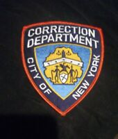 City of New York , Corrections Department  Patch  , NYPD