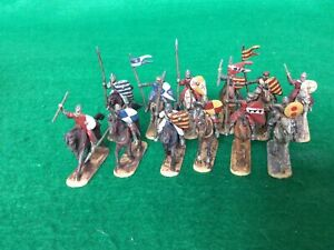 Hat El Cid Spanish heavy cavalry 12 painted figures