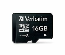 Verbatim 16GB Micro SDHC Card Class 4 Micro SDHC Card (44007) Brand New