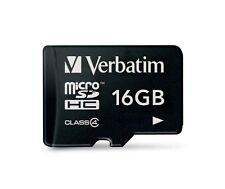 Verbatim 16GB Micro SDHC Card Class 4 Micro SDHC Card (44007) Brand New