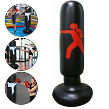 Adult Free-Standing Inflatable Punching Bag Stand Speed Boxing Training 160Cm