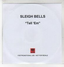 (DQ719) Sleigh Bells, Tell 'Em - DJ CD