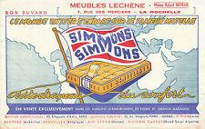Buvard Vintage  Matelas Simmons
