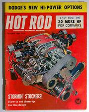 HOT ROD MAGAZINE VINTAGE 1961 OCTOBER GASSER CHEVY FORD MOPAR GM RACING