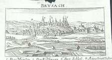 Breisach Reno Baden ORIGINALE RAME CHIAVE CATENACCI Merian 1686
