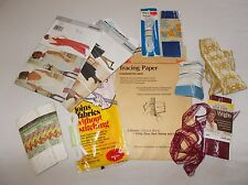 Small lot of vintage sewing supplies notions trim as pictured mix new and used