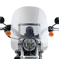 For Harley-Davidson Iron 883 09-18 Spartan Quick Release Windshield