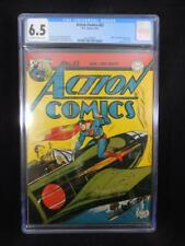 Action Comics #63    CGC 6.5    Hitler and Dummy Appearance   Classic War Cover