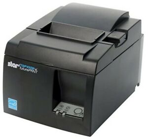 Star Micronics TSP143IIIBi Thermal Printer with Cutter and Power Supply