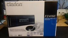 RARE CLARION FZ409E RADIO / USB CAR RADIO (MINT)