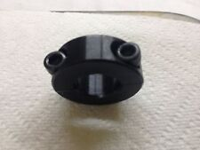 "3/4"" Bore Two Piece Clamp-On Shaft Collar- Black Oxide    AMEC"