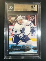 2016-17 Upper Deck Zach Hyman Young Guns Rookie BGS 9.5