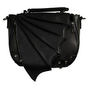 Banned Gothic 3D Bat Wing Gwendolyn Bag