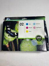 Hp 02 Ink Catridge Set Sealed