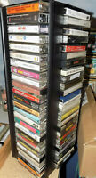 Music Cassette Tapes Lot All Genres Rock Pop R&B Soul Oldies Jazz FREE SHIPPING