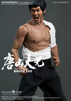Enterbay Real Masterpiece 1/6 The Big Boss Kung Fu Master Bruce Lee 12'' Figure