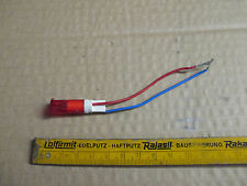 Kontrollleuchte  Leuchte Rot  Einbaumaß 10 mm für 12 Volt