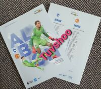 Brighton v Manchester United BEHIND CLOSED DOOR Programme 30/6/20!READY TO POST!