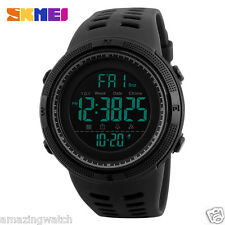 Imported Original SKMEI 1251 full Black Digital LED wrist Watch with box