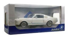 Shelby Mustang GT500 Año 1967 Blanco/azul 1 18 solido