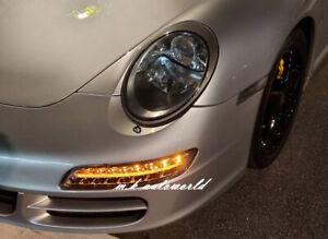 LED DRL Bumper Turnsignal Fog Position Lights pair for PORSCHE 911 997 05-09