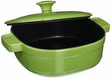 New KitchenAid Cast Iron Streamline Cookware KCLI30CRKI Kiwi 3 Qt Casserole