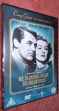 Mr.Blandings Builds His Dream House,  UK Region 2 DVD Cary Grant, Myrna Loy