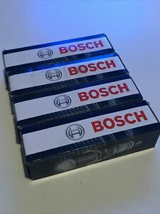 BOSCH FR7DE2 ( 0242235797 ) X4 SPARKPLUGS