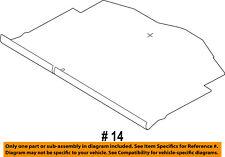 FORD OEM 14-18 Fiesta Interior-Rear-Floor Cover D2BZ5813046AD